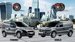 Doblò Cargo and New Fiorino triumph in the UK