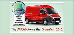 Fiat Ducato The first in eco-friendliness