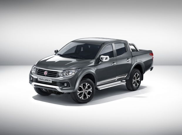 "World début of Fiat Professional's ""Fullback"" pick-up truck at the 2015 Dubai International Motor Show"